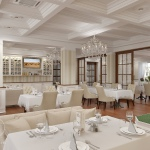 Дизайн интерьера ресторана Dolche Vita