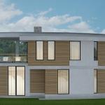 Проект частного жилого дома
