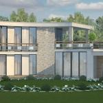 Дизайн загородного частного дома