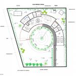 Загородный дом - план первого этажа