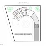 Загородный дом - план второго этажа