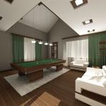 бильярдная комната