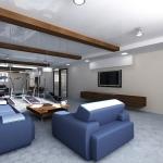 тренажерный зал в частном доме