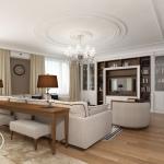 Дизайн интерьера квартиры в английском стиле