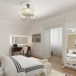 Дизайн интерьера спальной комнаты в английском стиле