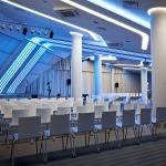 подсветка зала для проведения конференций