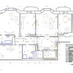 План с расстановкой мебели. Дизайн квартиры