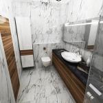 квартира резиденция ванная комната