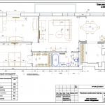 дизайн-проект квартиры план с мебелью