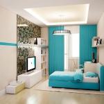 квартира в Киришах - дизайн спальни