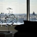 панорама Петербурга из окна жк Монблан