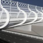 дизайн шумового барьера для скоростной трассы