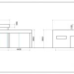 проект коттеджа фасады