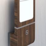 Концептуальный дизайн светильника Fendi