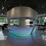 дизайн интерьера салона продаж BRP