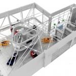 план торгового салона мототехники BRP