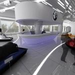 дизайн торгового салона снегоходов