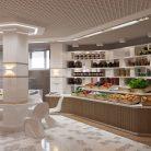 Дизайн интерьера продуктового магазина в Санкт-Петербурге